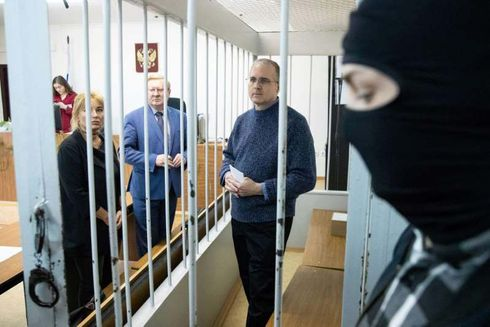 """Michigan businessman Paul Whelan told reporters in a Russian courtroom Friday that he's being threatened, abused and harassed at Moscow's Lefortovo Detention Facility, and that his imprisonment on an espionage charge is akin to political kidnapping.   A judge extended the pretrial phase of Whelan's detention for three more months on Friday, which means Whelan, 49, is to remain in prison until at least Aug. 29.  """"This is typical prisoner of war isolation technique,"""" Whelan told journalists in the courtroom, the Associated Press reported. """"They're trying to run me down so that I will talk to them.""""  Whelan, an ex-Marine who was the director of global security for the Auburn Hills-based auto supplier BorgWarner, said he was in Russia in December for the wedding of a friend when he was arrested in his hotel and accused of spying.  He told the court on Friday that there was """"absolutely no legitimacy"""" to the case against him, and said his imprisonment is retaliation for U.S. sanctions, BBC News reported.   The Russian Federal Security Service (FSB) alleges Whelan was caught in possession of a flash drive containing classified information. Whelan has told his lawyers that the flash drive came from a Russian friend, and that he was under the impression that it only contained photos of the friend's hometown.   Whelan, who was born in Canada to British parents and grew up in Ann Arbor, Michigan, holds U.S., British, Canadian and Irish passports. If he's convicted of spying, he could be imprisoned for up to 20 years.  """"We of course remained concerned by the lack of evidence in his case and the secretary is committed to continuing to raise this at the highest levels,"""" said Morgan Ortagus, a State Department spokeswoman.  Paul Whelan's twin brother, David Whelan, told the Free Press that he believes his brother was targeted by Russian authorities because he was an American businessman.   """"Unfortunately, the FSB appears to have miscalculated whatever result they helped to extort """