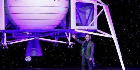 """SpaceX founder and Tesla CEO Elon Musk appeared to taunt Jeff Bezos in a crude tweet late Thursday after the Blue Origin founder announced he was planning on sending a spaceship to the moon.  Musk, 47, tweeted a screenshot of a New York Times article with the headline: """"Jeff Bezos unveils Blue Origin's vision for space, and a moon lander."""" The image featured Bezos, who is also the CEO of Amazon, standing in front of the company's """"Blue Moon"""" spacecraft.  But Musk's screenshot of the article appeared to be altered. Instead of reading """"Blue Moon,"""" the word """"moon"""" was crossed out and the word """"balls"""" was added in.  """"Oh stop teasing, Jeff,"""" Musk tweeted.  The tweet received more than 52,000 likes as of Friday morning.  This is not the first time Musk has taken a swipe at Bezos. Last month, following the news that Amazon was launching thousands of satellites in an effort to offer better internet service to people living in remote parts of the globe, Musk called Bezos a copycat on Twitter.  However, the two billionaires also exchanged well-wishes as recently as February 2018 when Bezos wished Musk's SpaceX the """"best of the luck"""" on their Falcon Heavy launch.  Bezos announced Thursday that his space company, Blue Origin, will land a robotic ship on the moon that will carry four rovers and use a newly designed rocket engine and souped-up rocket. After that, the ship will be followed by a version that can transport people to the moon, following the same timeframe as NASA'S proposed 2024 return to the celestial body.  Last year, SpaceX announced that a Japanese businessman and a group of artists will be their first customers for a tourist trip around the moon in 2023.   Source: https://www.foxbusiness.com/business-leaders/elon-musk-taunts-jeff-bezos-plan-of-sending-spaceship-to-moon-in-crude-tweet"""