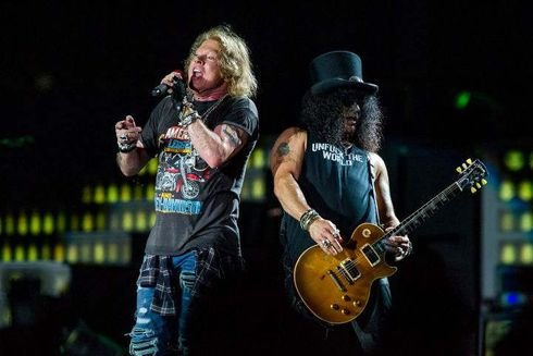 "Guns N' Roses is suing a Colorado brewery for its ""Guns 'N' Rosé"" ale, claiming it infringes on the legendary rock band's trademark and suggests the group is somehow connected to the product.  Oskar Blues Brewery attempted to trademark the name in 2018, according to the Hollywood Reporter, prompting the band's manager to reach out. The brewery then withdrew the trademark application but continued to sell the drink, according to the lawsuit filed in California on Thursday. Oskar Blues also sells merchandise with the label of the rosé ale.  Guns N' Roses is seeking an injunction against the brewery to prevent the sale of the ""Guns 'N' Rosé"" ale. The band also wants the company to surrender any promotional material for destruction, as well as unspecified damages.  It is not uncommon for bands to sue entities that use their likeness without permission. A firm representing Nirvana, for example, is reportedly suing Marc Jacobs, along with retailers Marc Jacobs and Saks Fifth Avenue, for using the grunge band's smiley face logo in a clothing line from the designer.   Source: https://www.foxbusiness.com/media/guns-n-roses-sues-colorado-brewery-for-alleged-trademark-infringement"