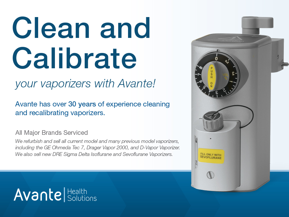 Increase the Life of Your Vaporizer with Regularly Scheduled Cleaning & Calibration Services