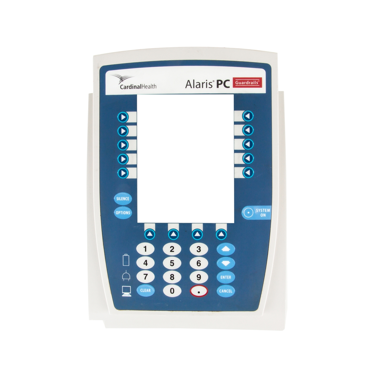 Alaris 8000 Point of Care Unit Front Case & Keypad Assembly