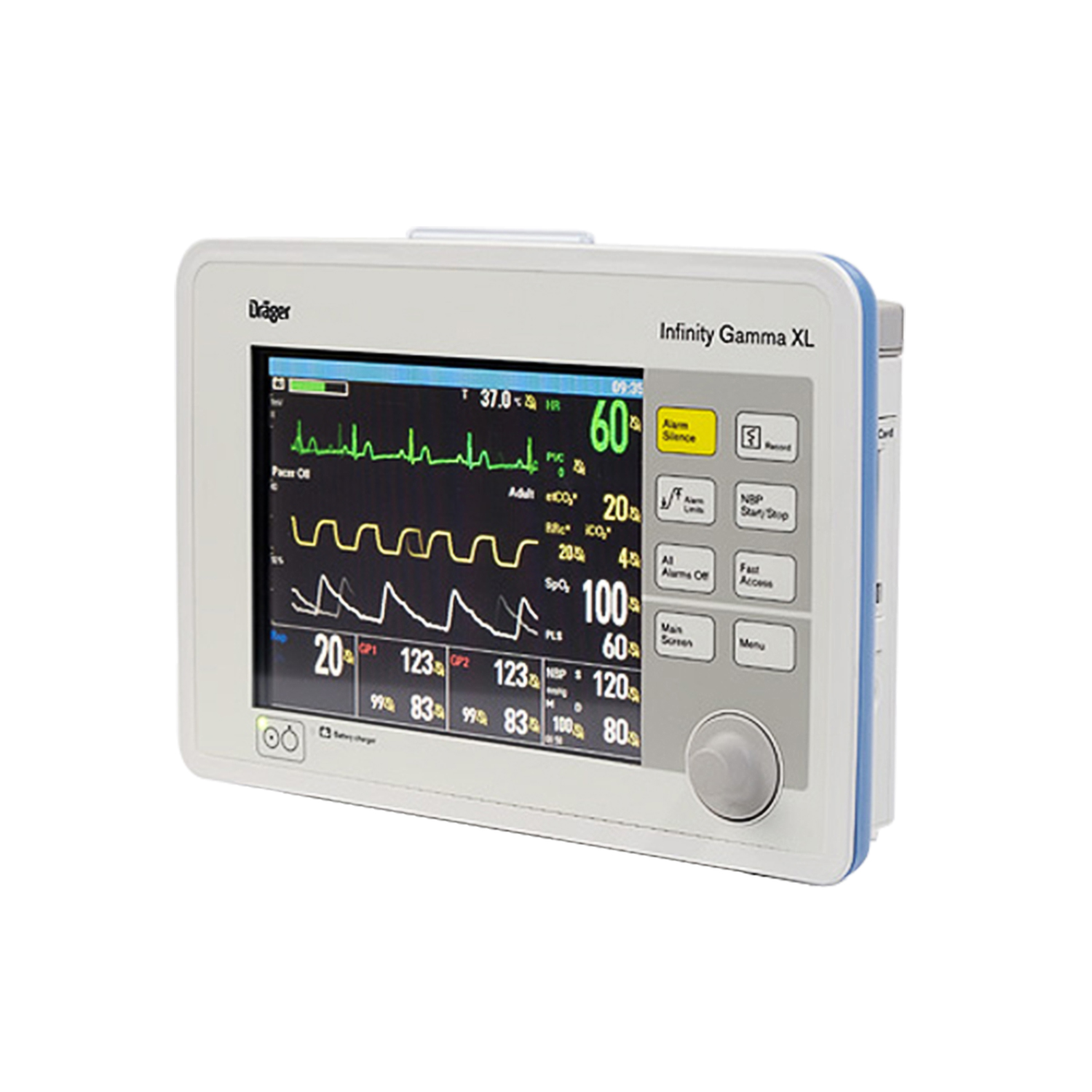 Drager Infinity Gamma XL Patient Monitor | DRE Medical Equipment