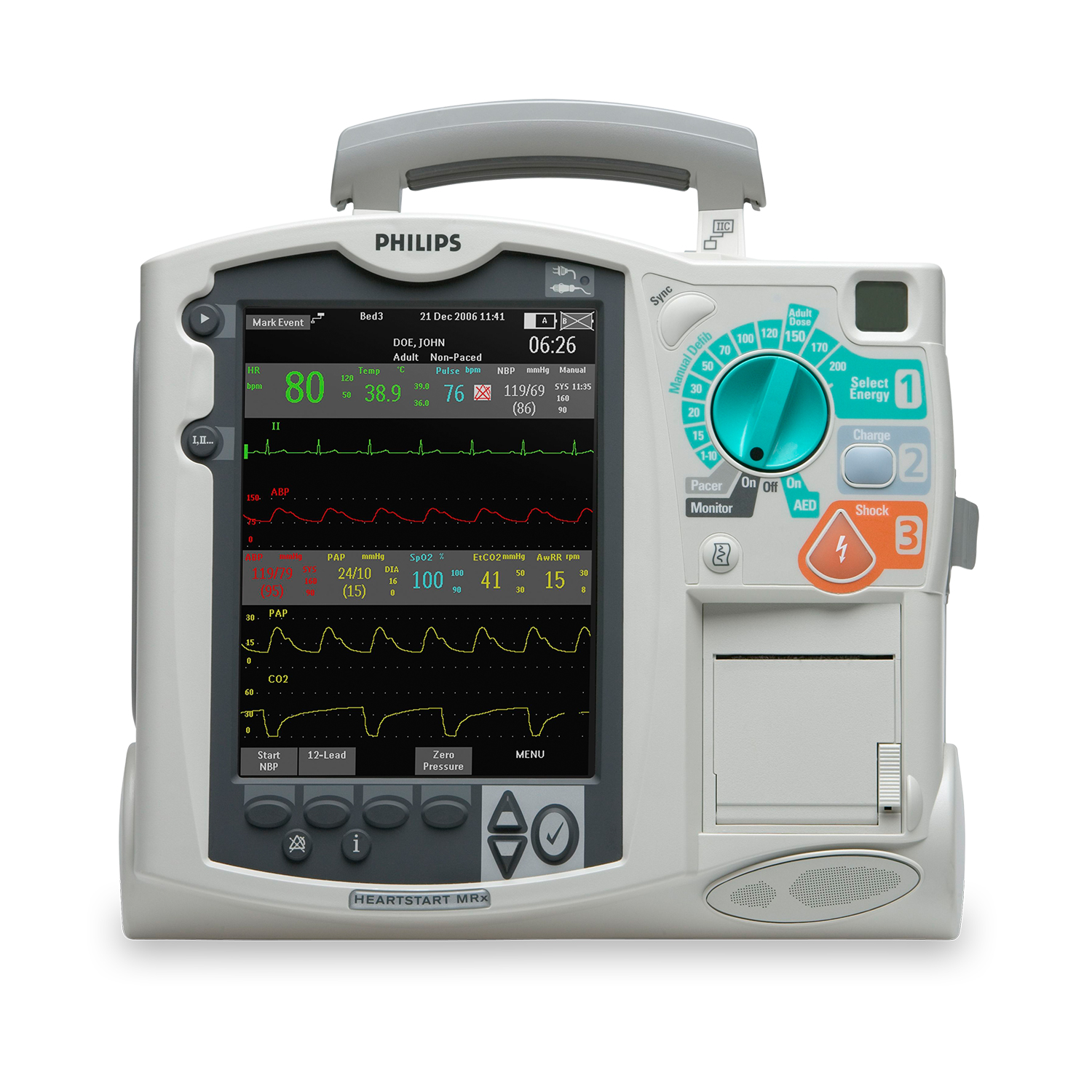 Refurbished - Used Philips HeartStart MRx Defibrillator