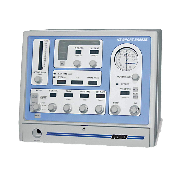 Newport Breeze E-150 Compact Critical Care Respiratory Ventilator