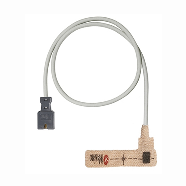 OEM Masimo SET 1861 LNCS Inf-L Disposable Infant Textile Adhesive Wrap SpO2 Sensors LNCS 9 Pin Connector 3FT/1M Cable 20pk