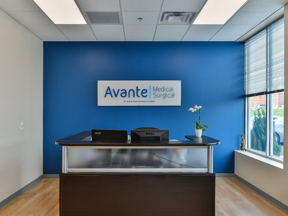 Avante Medical Surgical entry way 4/11