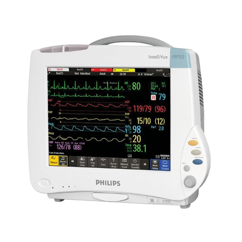 Philips Intellivue MP50 Patient Monitor