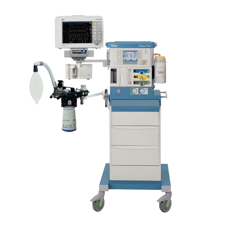 Refurbished - Drager Fabius Tiro Compact Anesthesia Machine