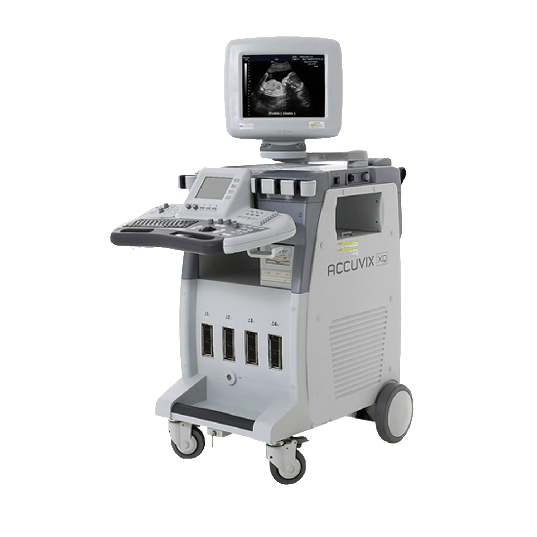 Medison Accuvix XQ Ultrasound Machine