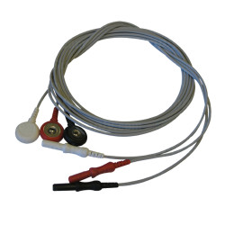 3-Lead ECG Snap Set Leadwires