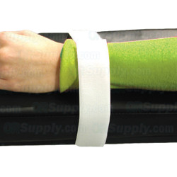 Disposable Armboard Patient Restraint Straps - White - Package of 24