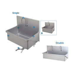 Surgical Stainless Steel Scrub Sink