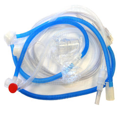 Neonatal Respiratory Breathing Circuit with Water Traps