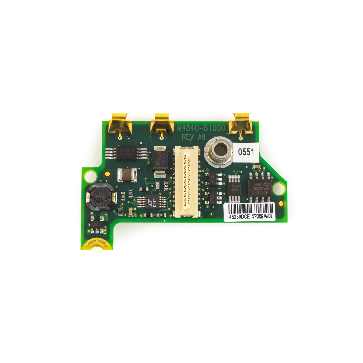 Philips IntelliVue M2601B M4841A TRx+ Telemetry Transmitter S01 S02 S03 AA Power Supply Circuit Board PC Assembly