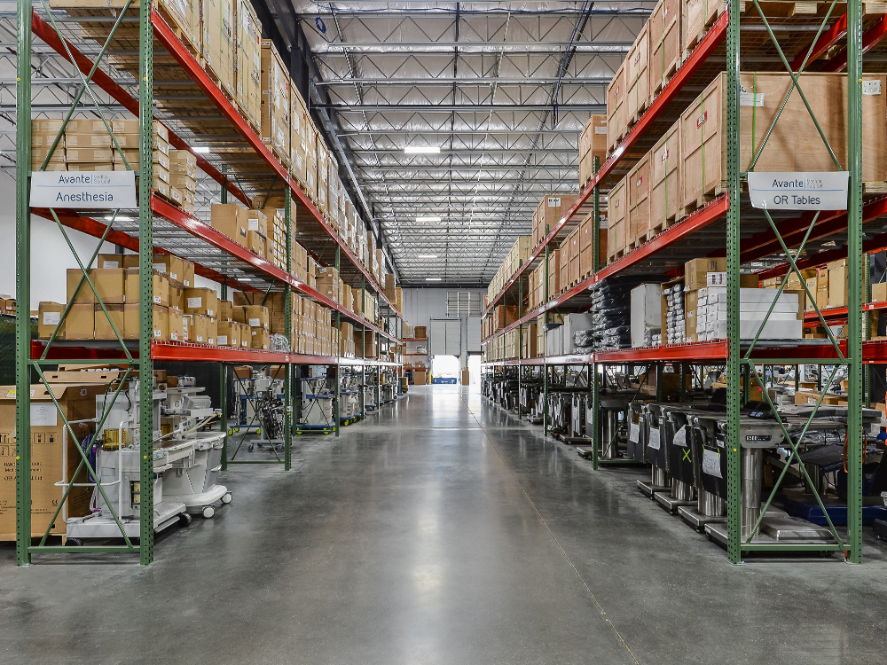 Avante Medical Surgical warehouse 3 4/11