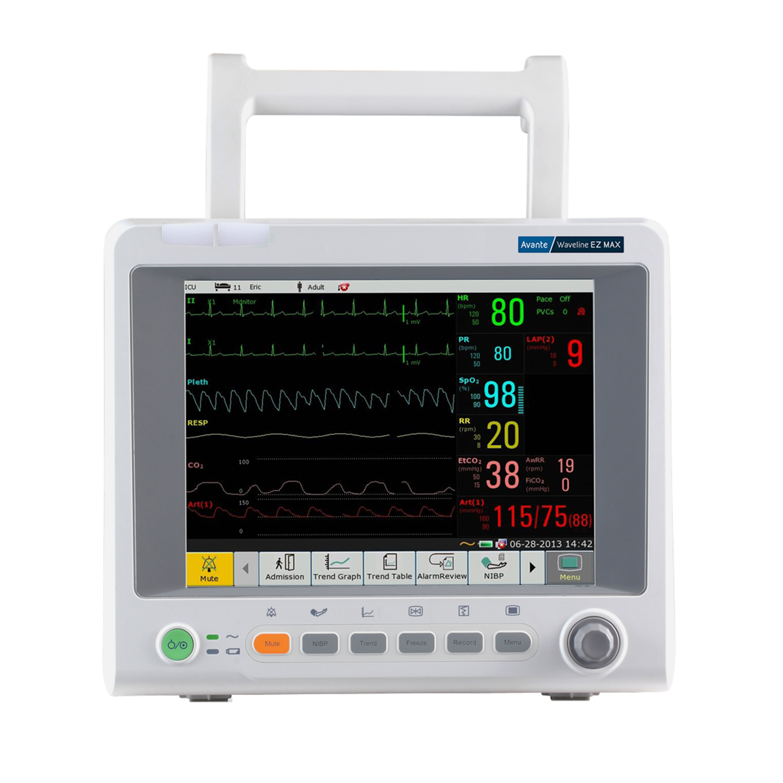 Monitor de Signos Vitales Waveline EZ MAX Avante
