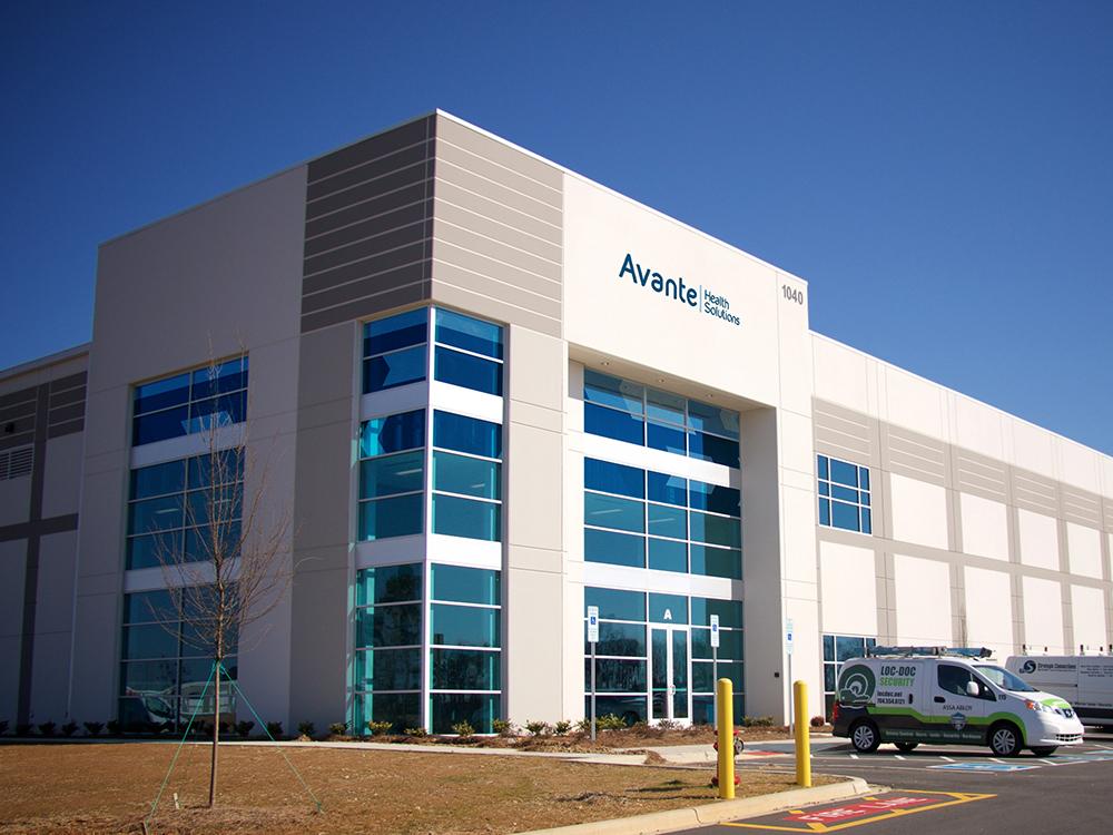 Avante Health Solutions NC building 1