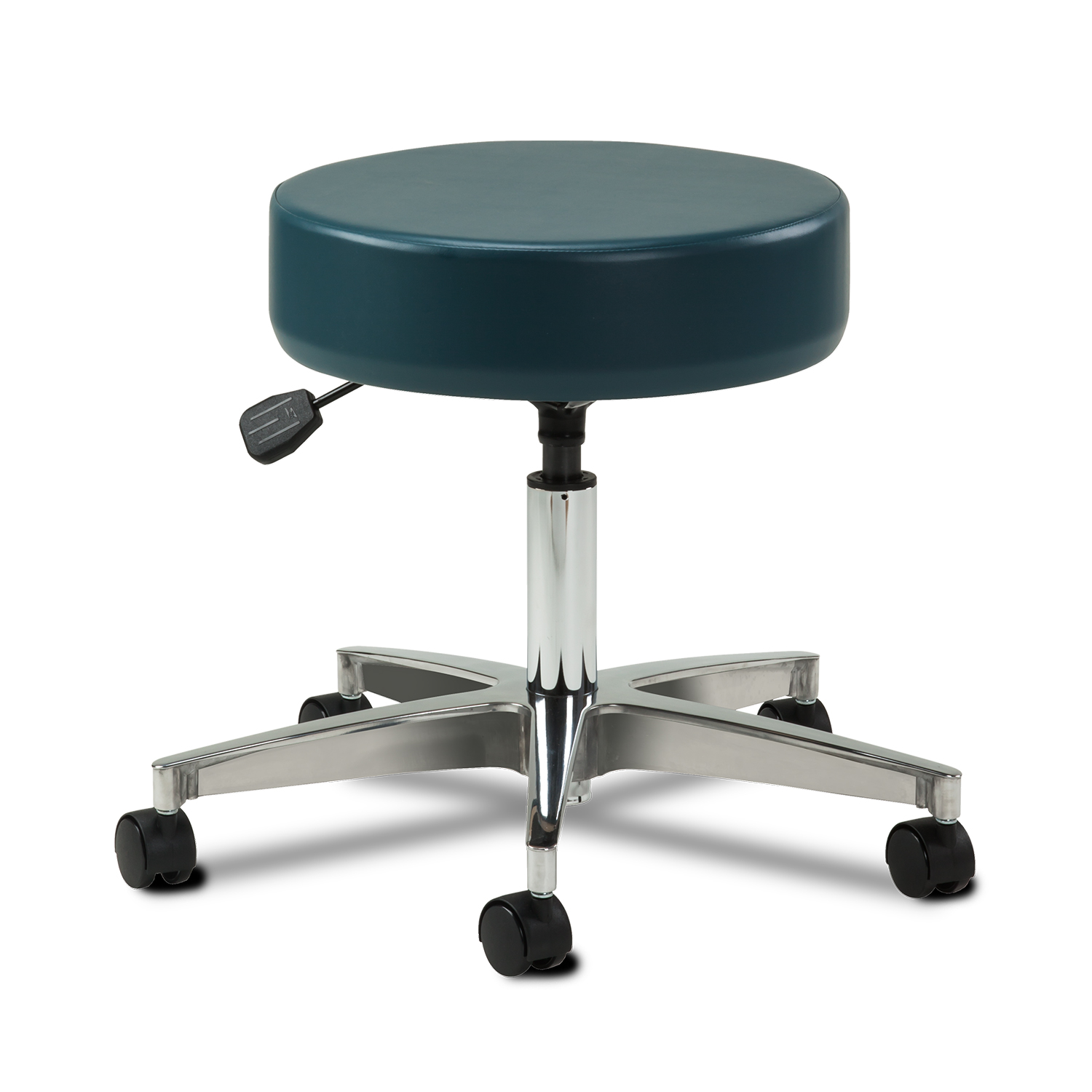 Clinton 5-Leg Aluminum Base Pneumatic Stool