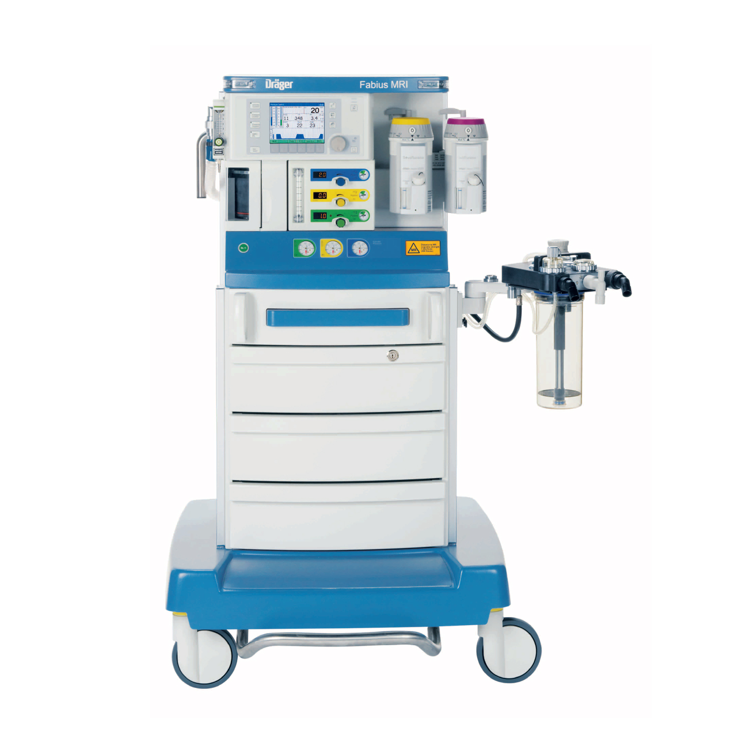 Drager Fabius MRI-Compatible Anesthesia Machine