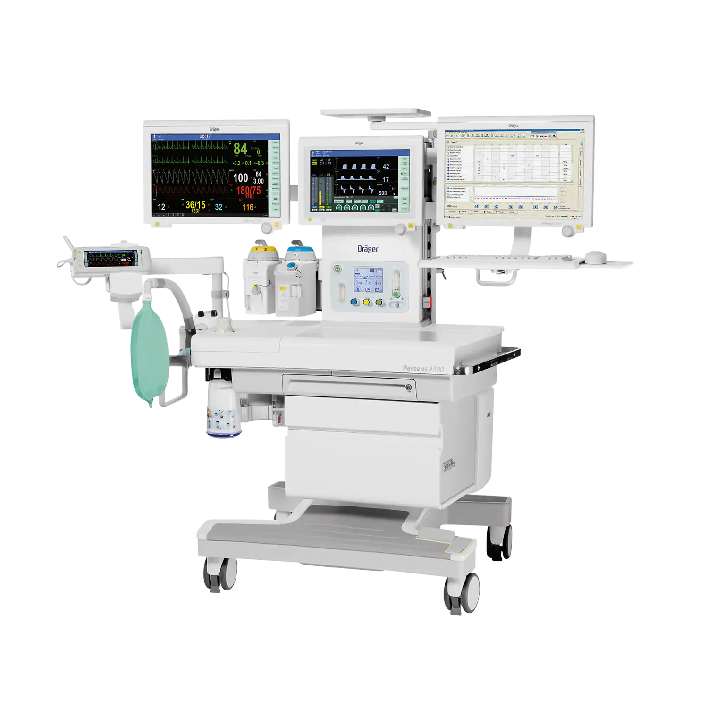 Draeger Perseus A500 Anesthesia Machine