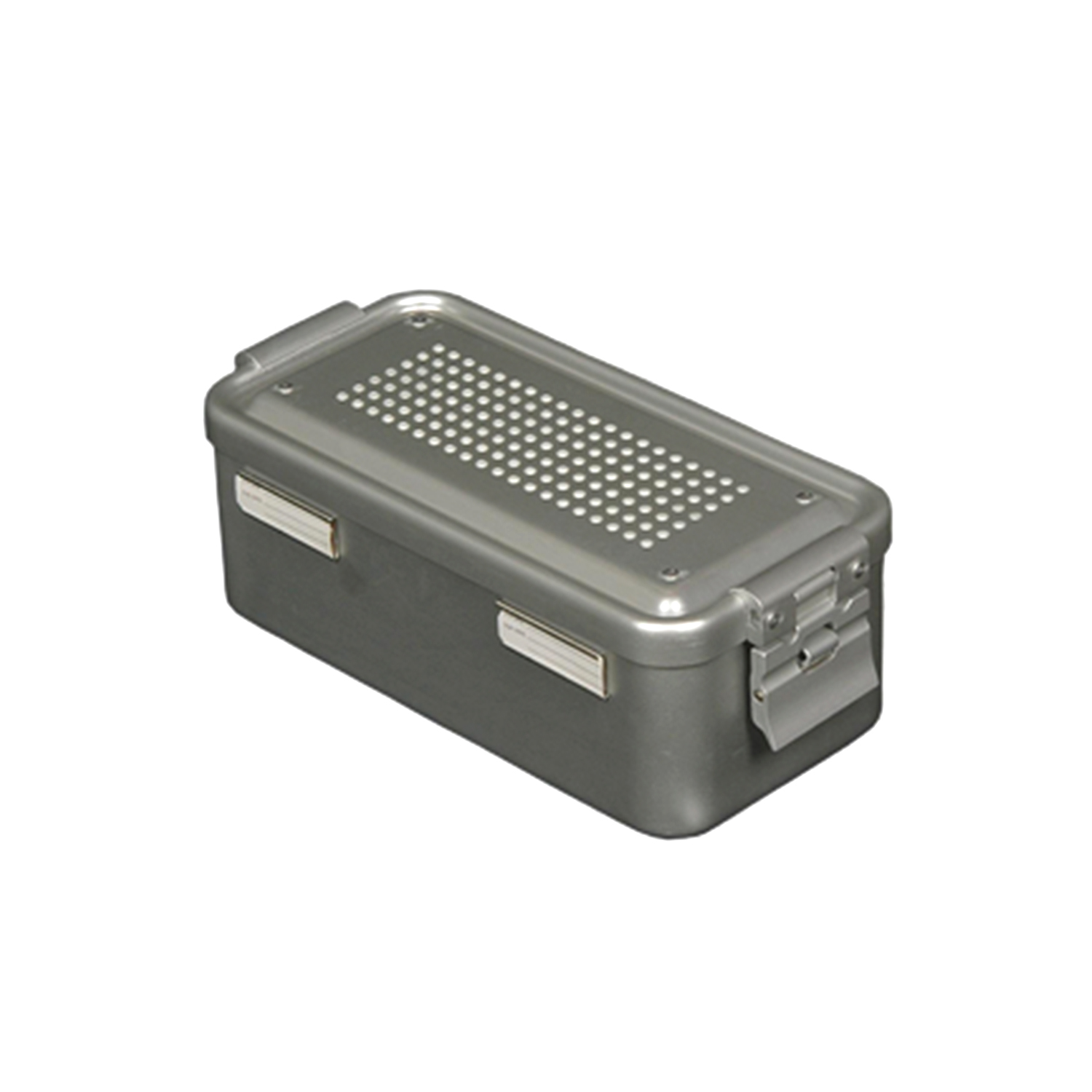 """Sterilization Containers Non Perforated Lid - Dental Container 12"""" x 7.5"""""""