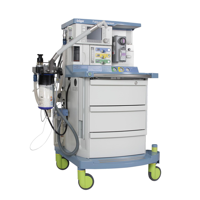 Drager Fabius GS Máquina de Anestesia