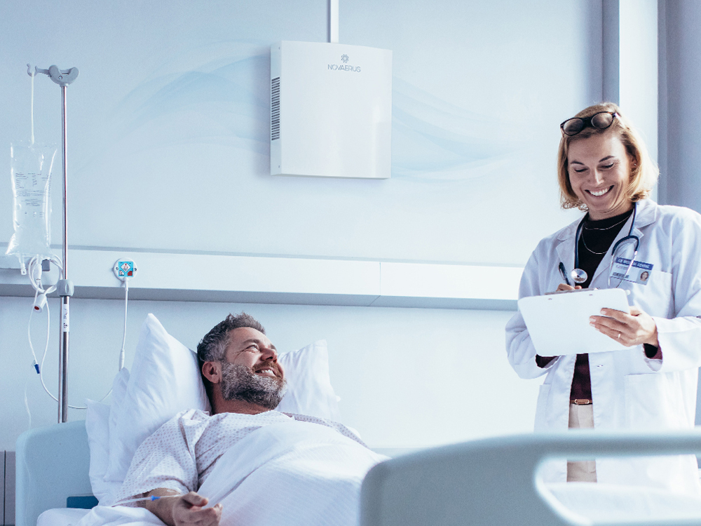 Why Air Disinfection Systems Are Becoming an Increasingly Vital Component of Patient Care