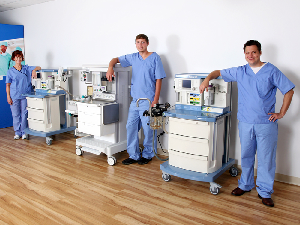 GE and Drager Anesthesia Machines: How Do They Measure Up?
