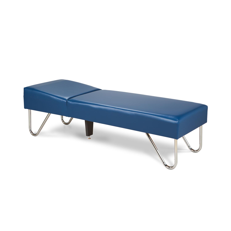 Clinton Chrome Leg Couch - 3600