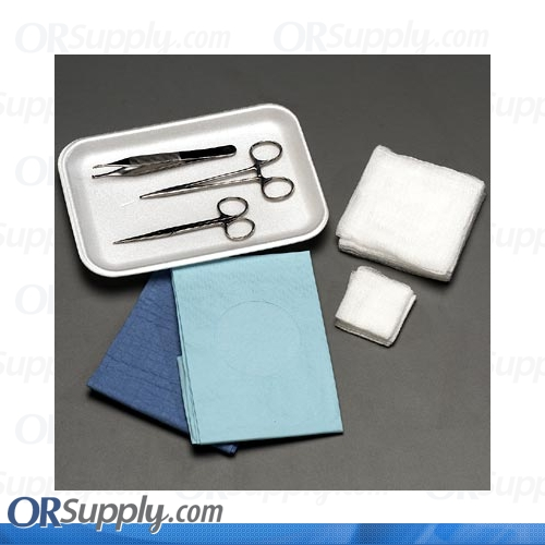 "Sklar Minor Laceration Tray ""B"" (Case of 12)"