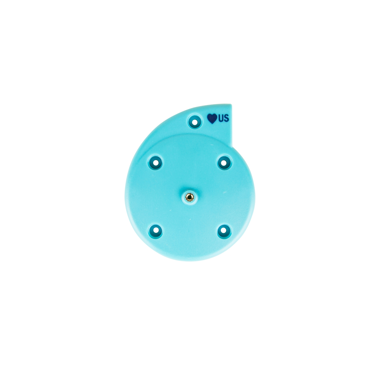 GE Corometrics Nautilus 5700HAX Ultrasound Transducer Top Case Cover With Knob