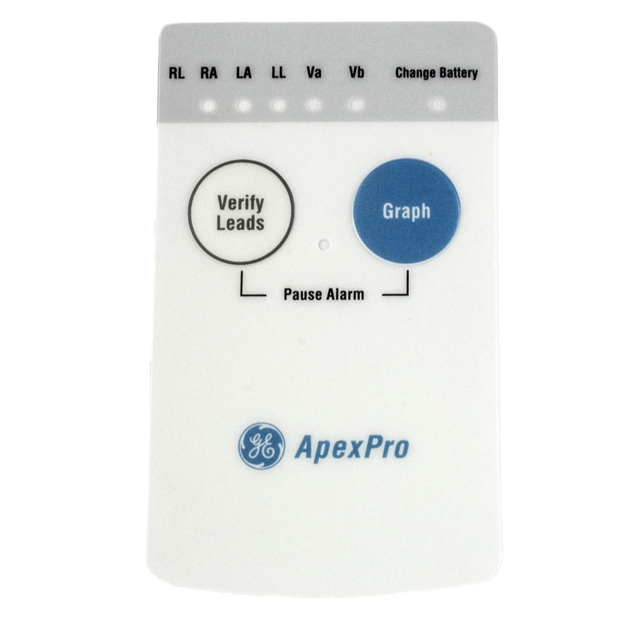 GE ApexPro Telemetry Transmitter Front Overlay Label