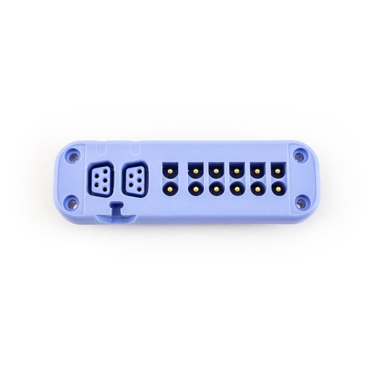 GE ApexPro CH Telemetry Transmitter ECG Lead Wire Block