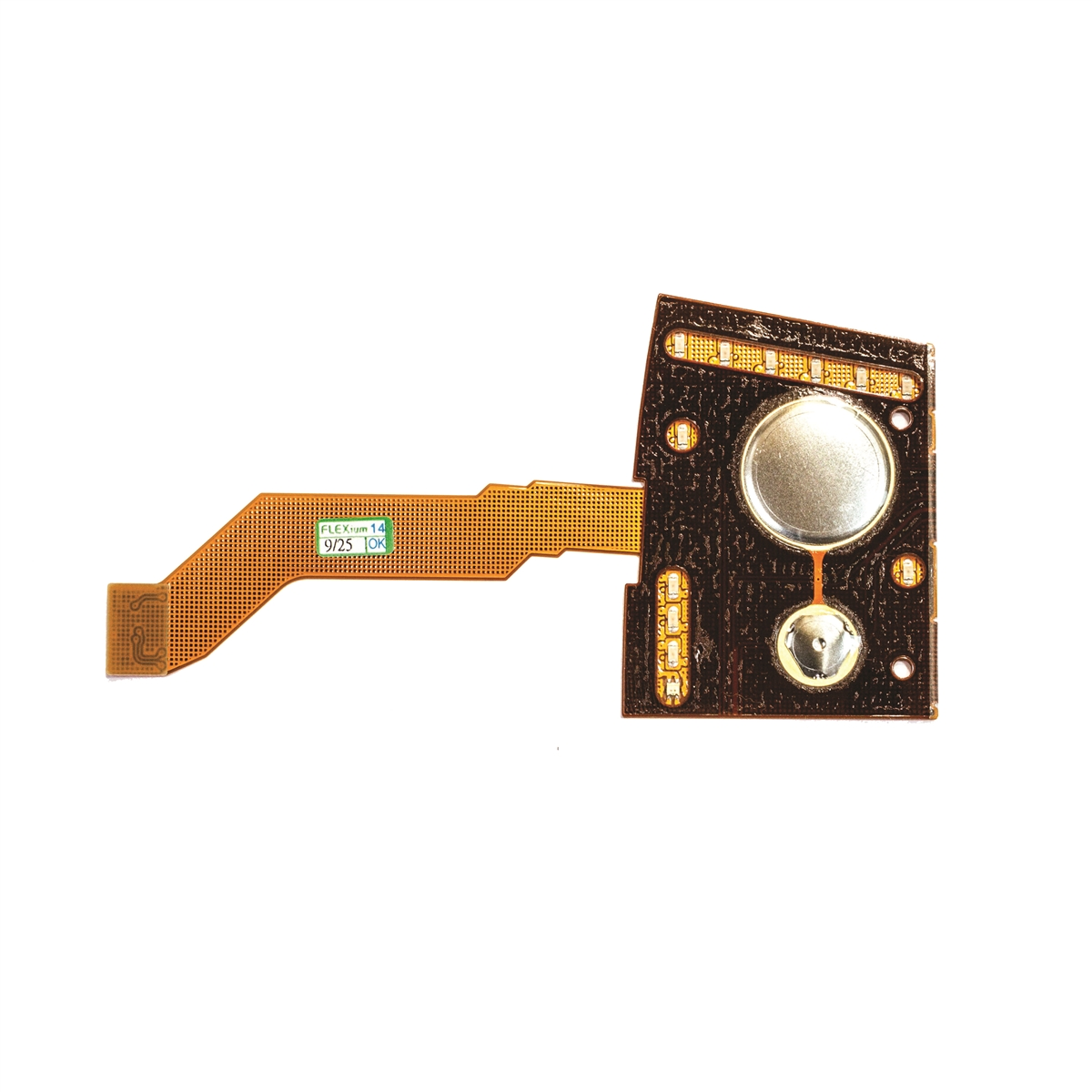 Philips IntelliVue M2601B M4841A TRx+ Telemetry Transmitter S01 S02 S03 LED Membrane Switch Circuit Board Flex Cable