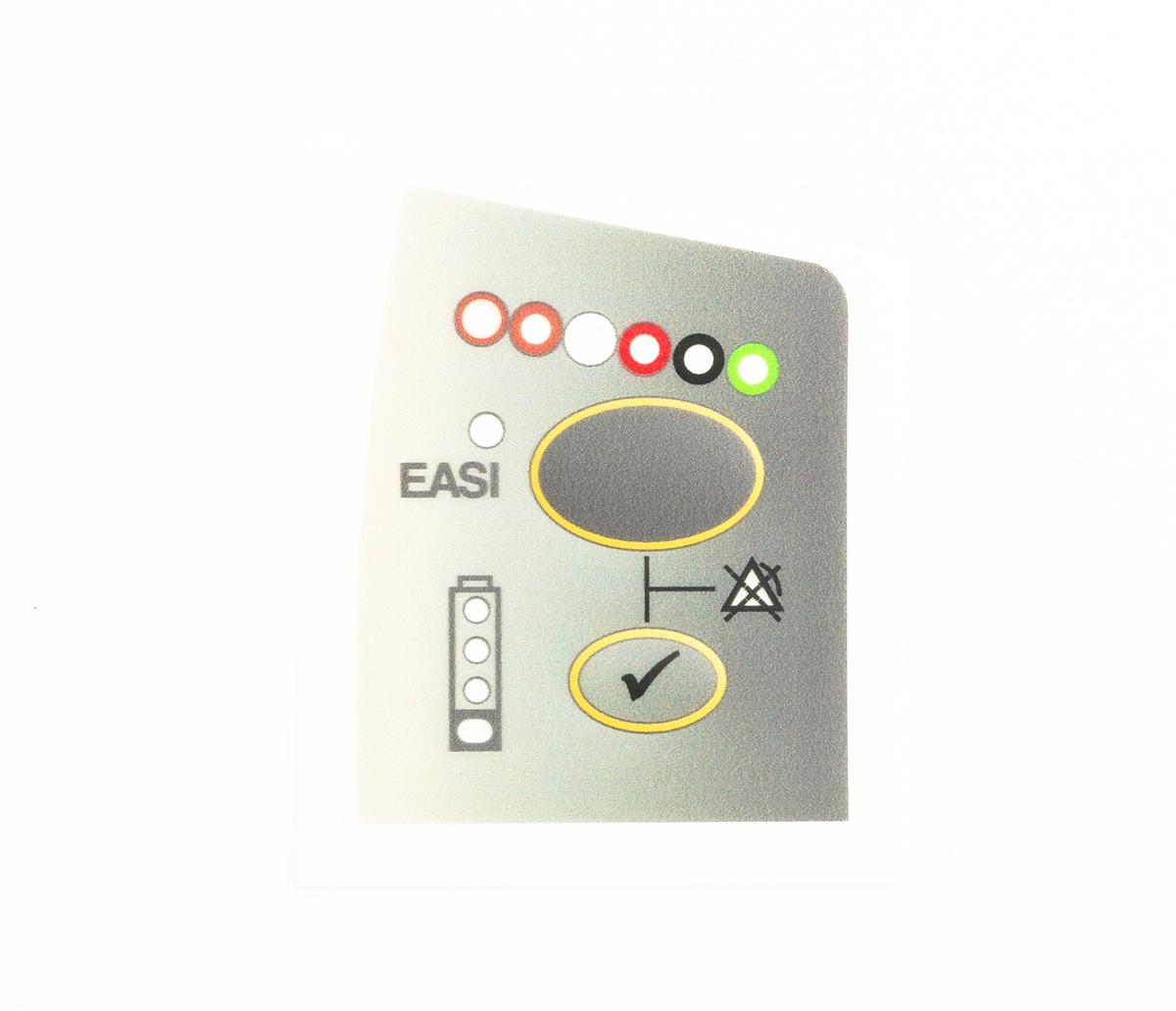 Philips IntelliVue M2601B Telemetry Transmitter S01 S02 S03 Front Case Overlay Label EASI ECG
