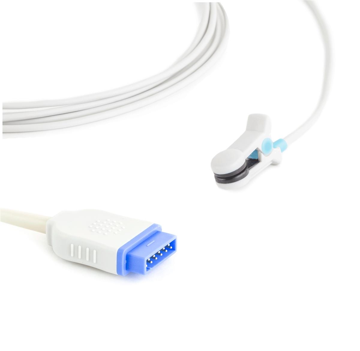 GE Datex-Ohmeda Marquette Ear Clip SpO2 Sensor (10 ft)