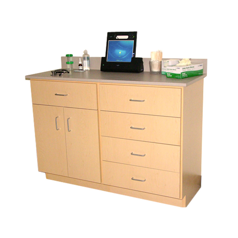 DRE Value Cabinet Series: 5 Drawers, 2 Door Cabinet