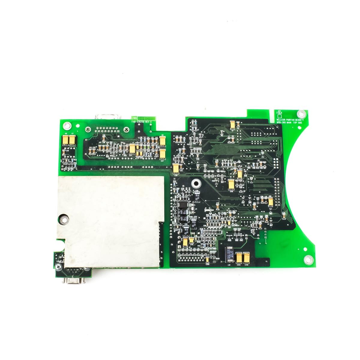 Nellcor N-395 Pulse Oximeter Monitor User Interface PCB Circuit Board