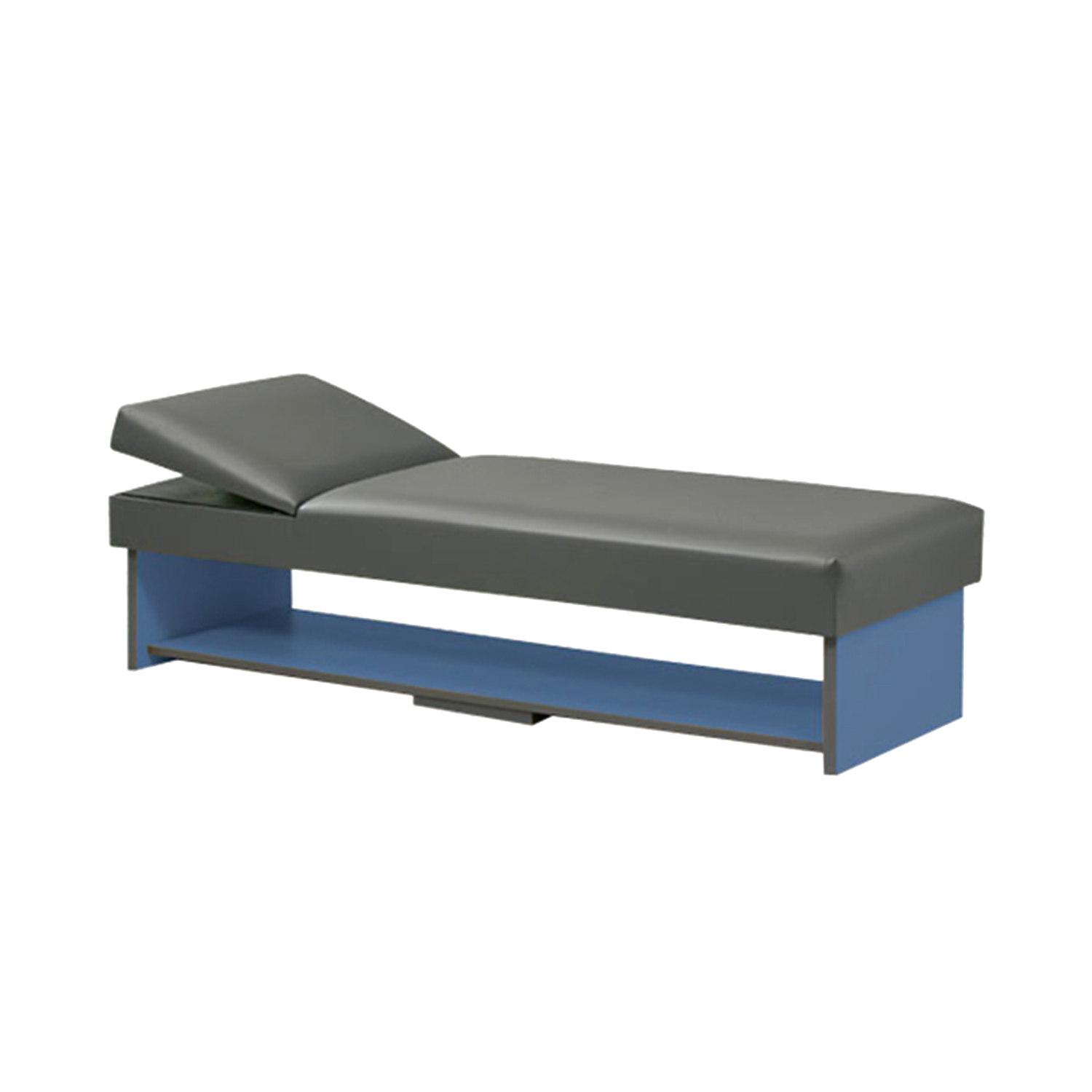 Clinton Panel Leg Couch with Full Shelf - 3710