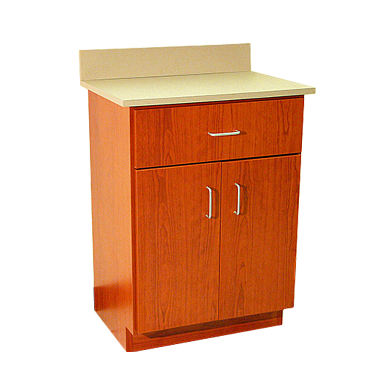 DRE Value Cabinet Series: 2 Door, 1 Drawer Cabinet