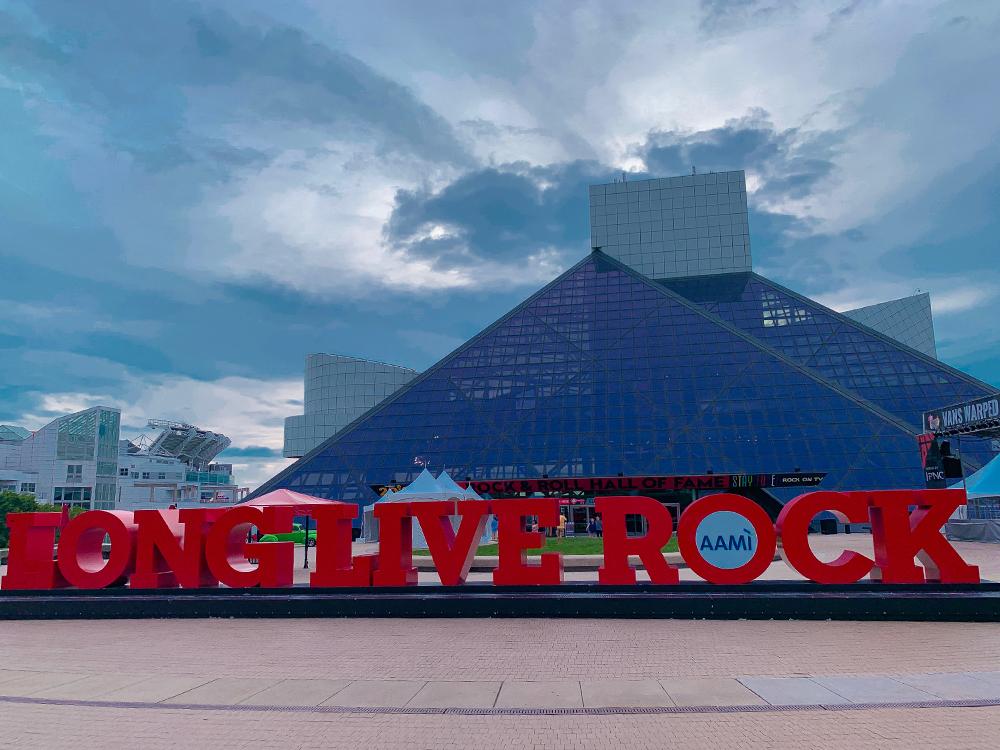 AAMI 2019 expo long live rock