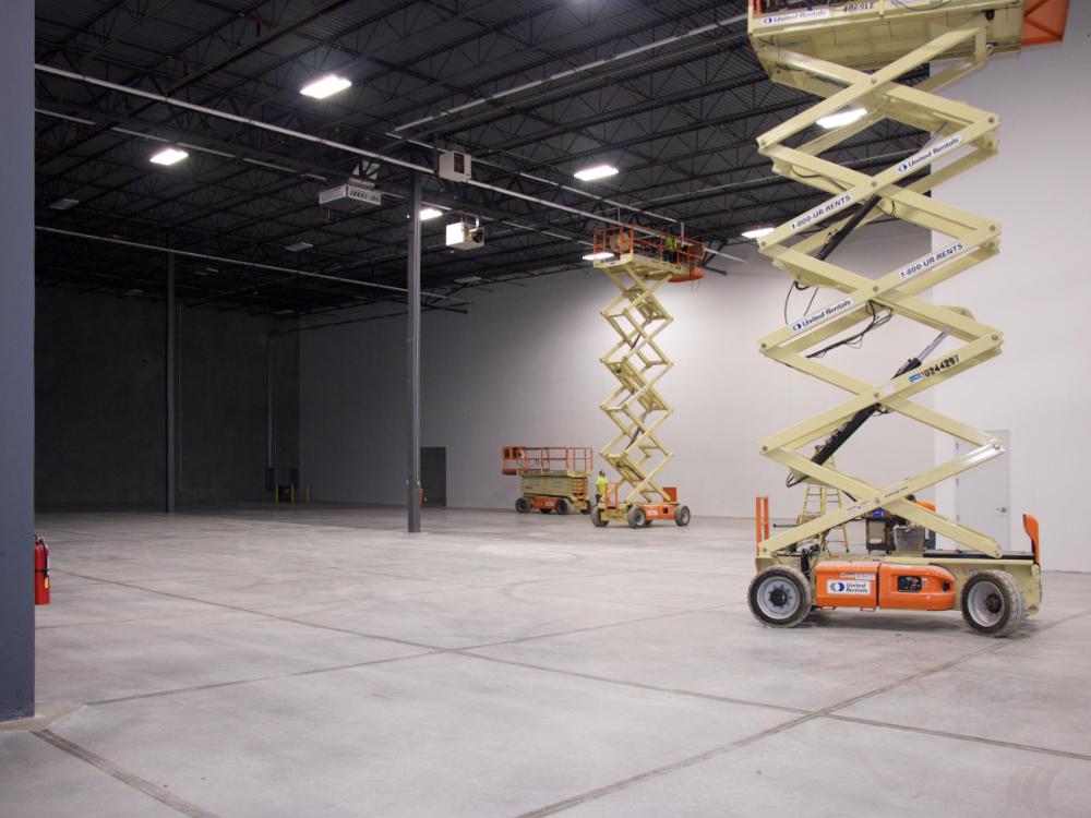 Avante Health Solutions building in Concord, NC warehouse construction