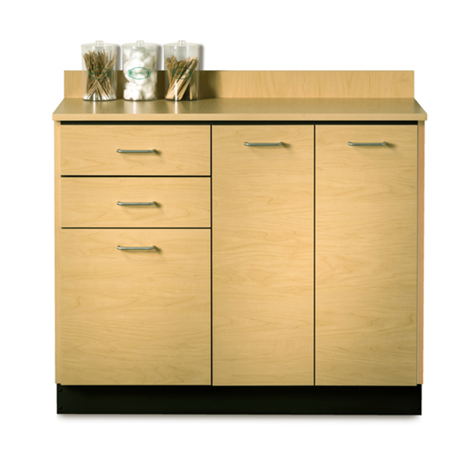 Clinton Base Cabinet with 3 Doors and 2 Drawers