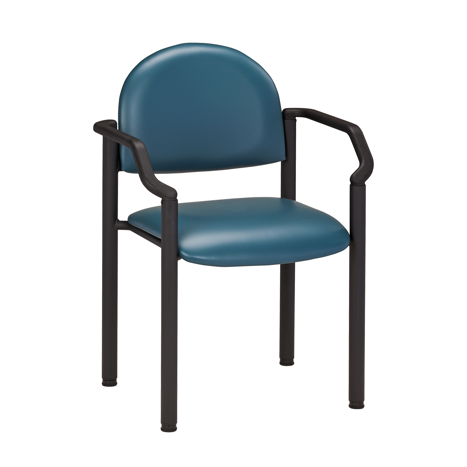 Clinton Black Frame Chair with Arms