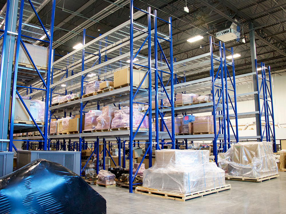 Avante HS Charlotte - warehouse shelves large