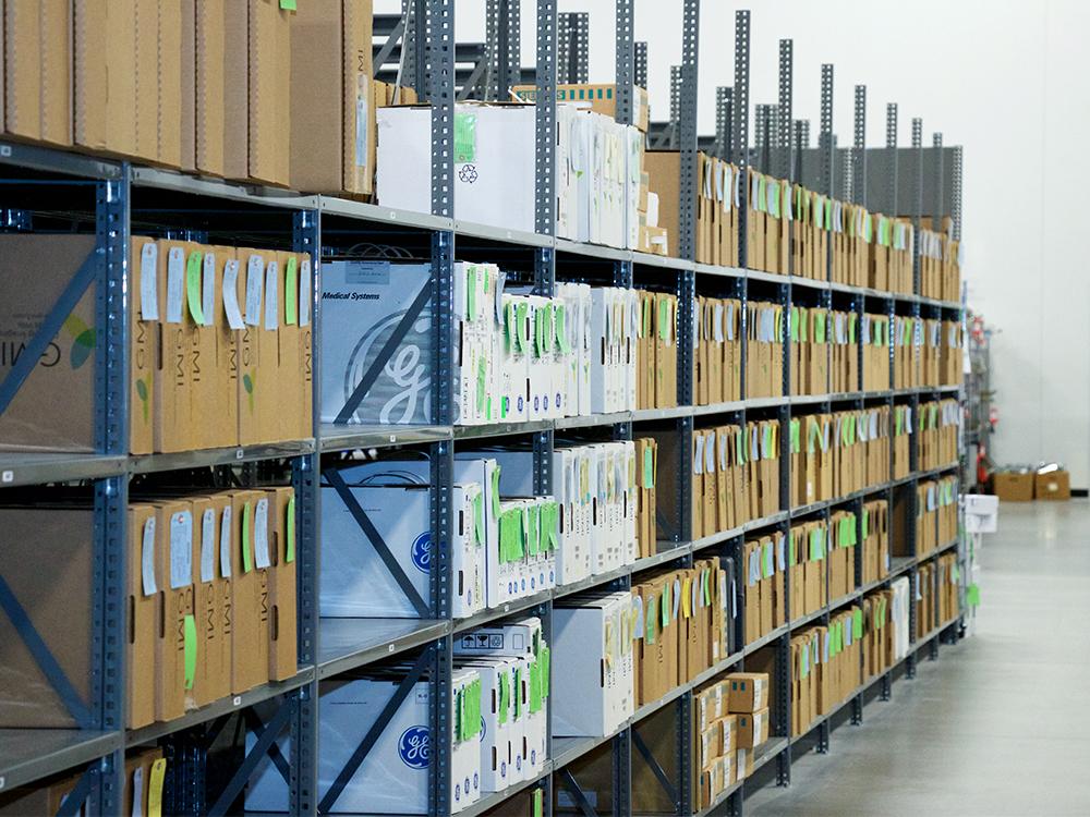 Avante HS Charlotte - warehouse shelves GE