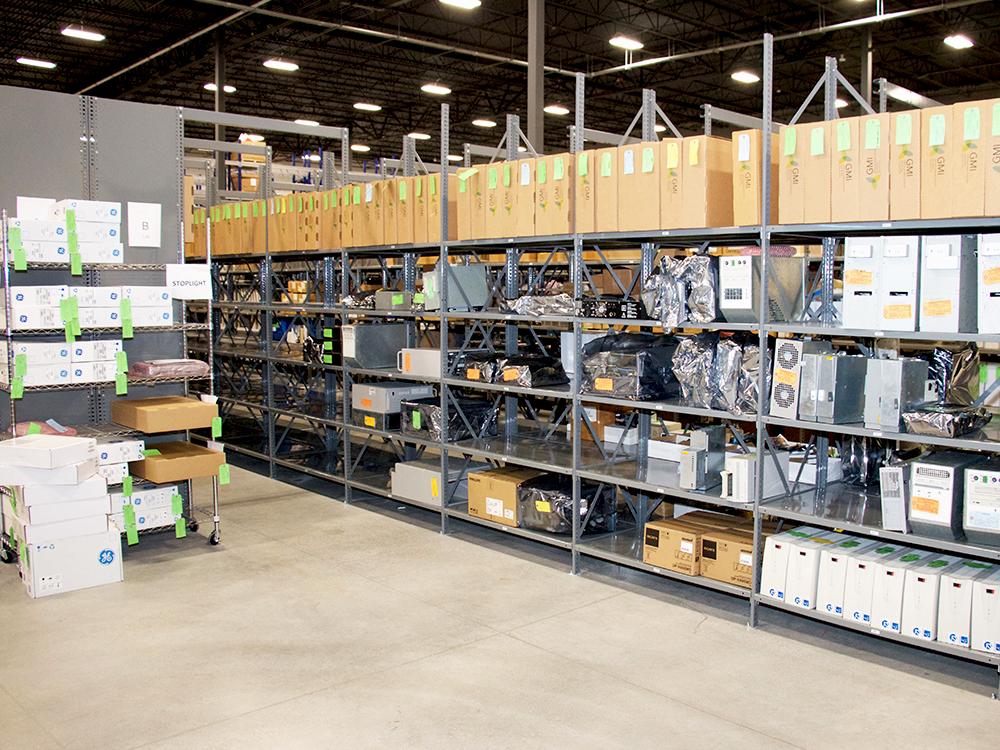 Avante HS Charlotte - warehouse shelves GMI