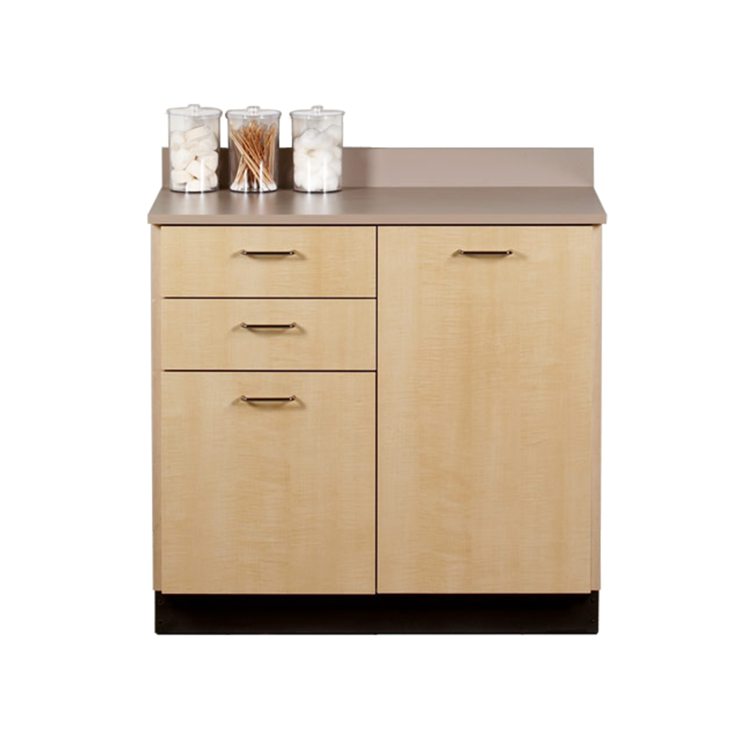 Clinton Base Cabinet with 2 Doors and 2 Drawers
