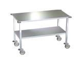 Mesas de Trabajo de acero inoxidable y soportes de instrumentos