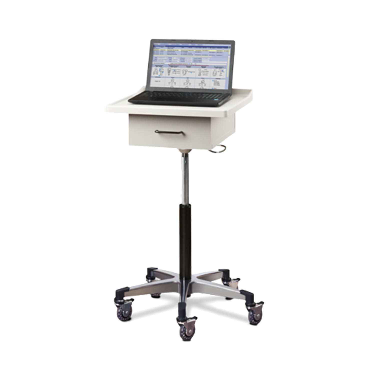 Clinton Large, Tec-Cart™ Mobile Work Station with Drawer